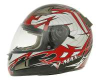 Chopper 125 BT125-3 4T AC 06-08 Integralhelm