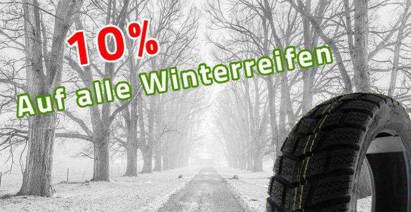 10% auf alle Winterreifen