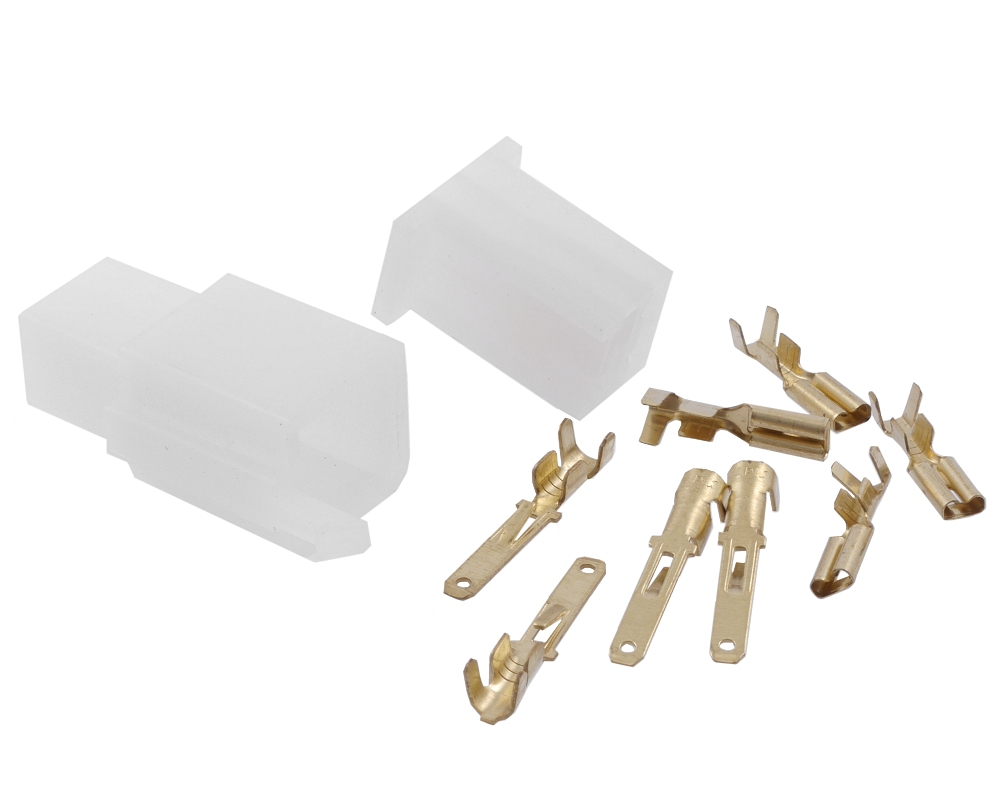 Kabelverbinder / Stecker Satz 4 Pin Roller, Moped, Mofa usw