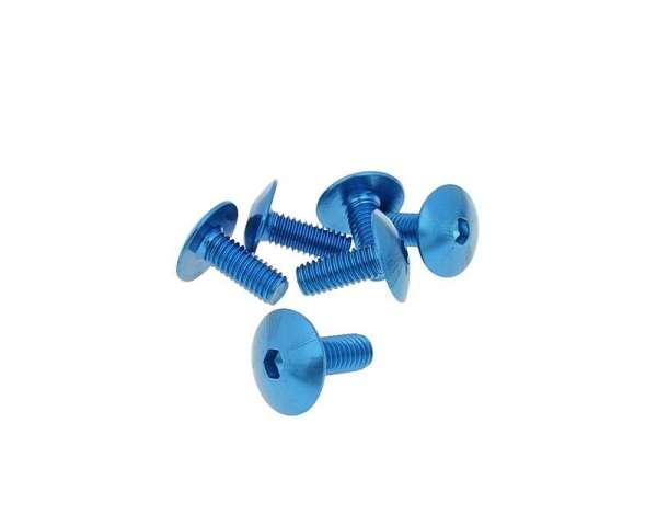 Schraubensatz 6 Stück Verkleidung - M6 15mm