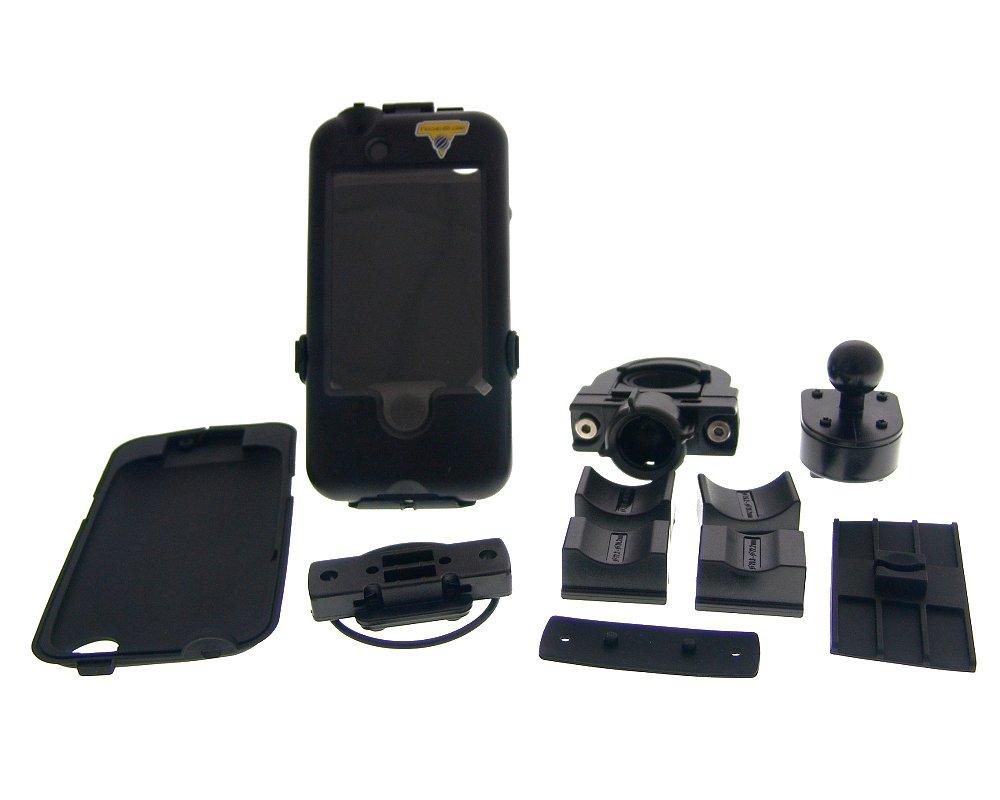 Halterung und Schutz-Geh�use f�r iPhone 3 & 4