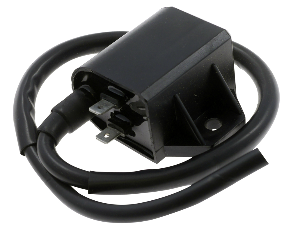 Ignition Coil 12v CDI Single Lead 2 Terminals 80mm Thin