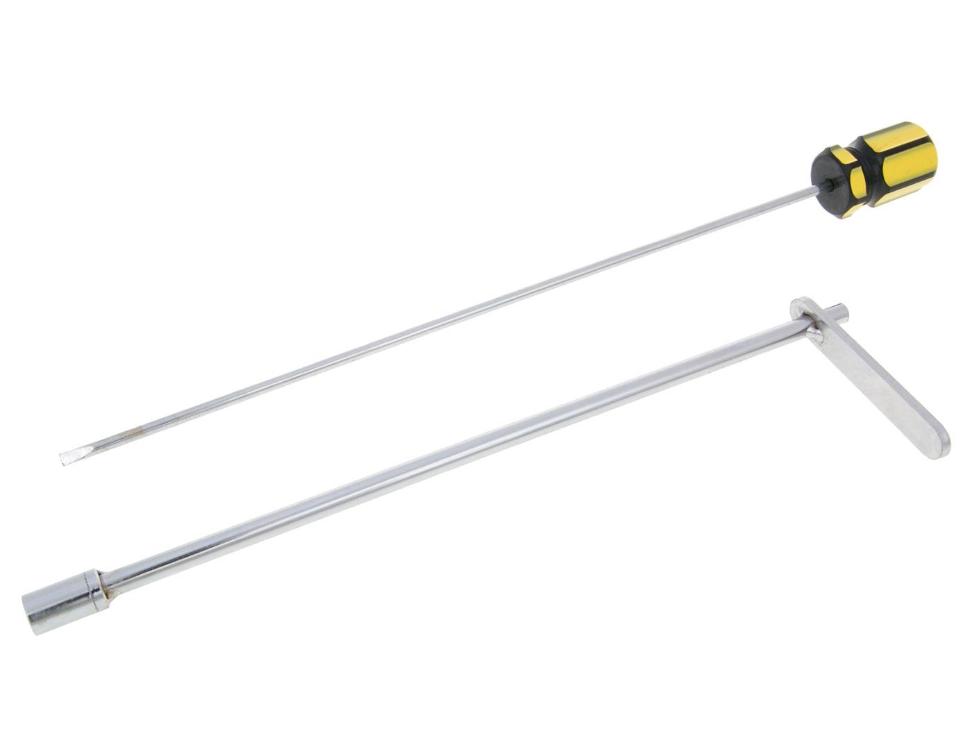 Schraubendreher Vergaser Einstellwerkzeug 280mm 8mm Sechskan