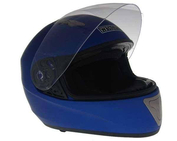 Integralhelm WACHMANN WA-10 Ferreus blau matt
