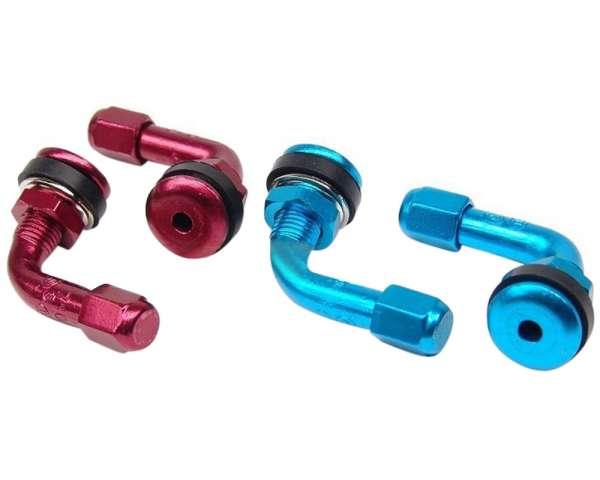 Reifenventil Set farbig eloxiert