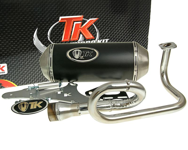 Details about TURBO KIT Gmax 4T Exhaust for Yiying YY50QT-2, YY50QT-21 (A),  YY50QT-22