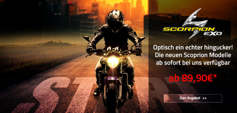 Scorpion Helme ab 89,90€