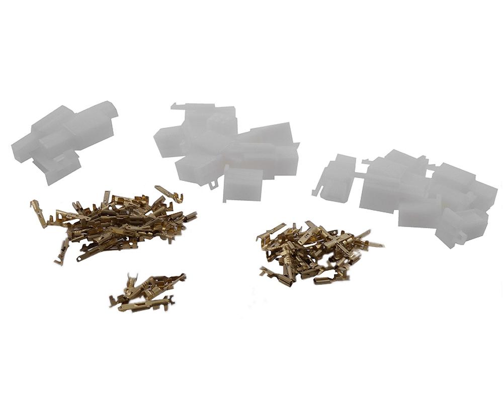 Kabelverbinder / Stecker 108 teilig 2 / 4 / 6 Pin Roller usw