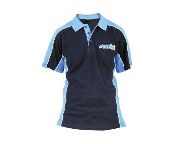 Poloshirt POLINI Race Team navy-hellblau