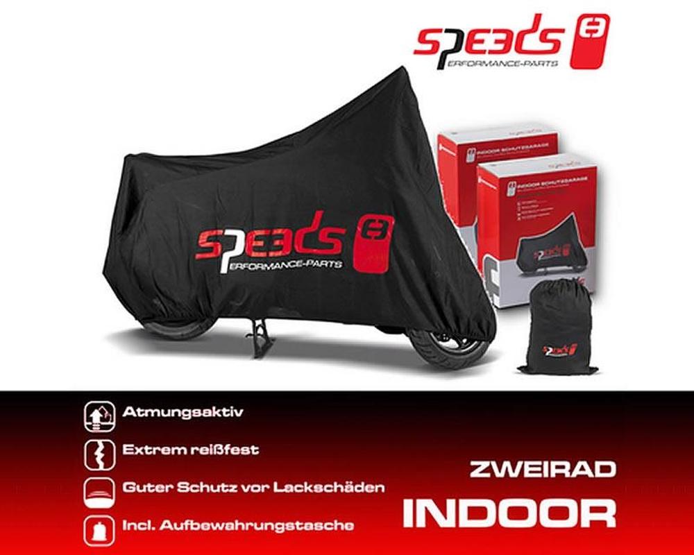 Zweiradgarage Speeds Indoor Gr��e M - 225x90x117cm