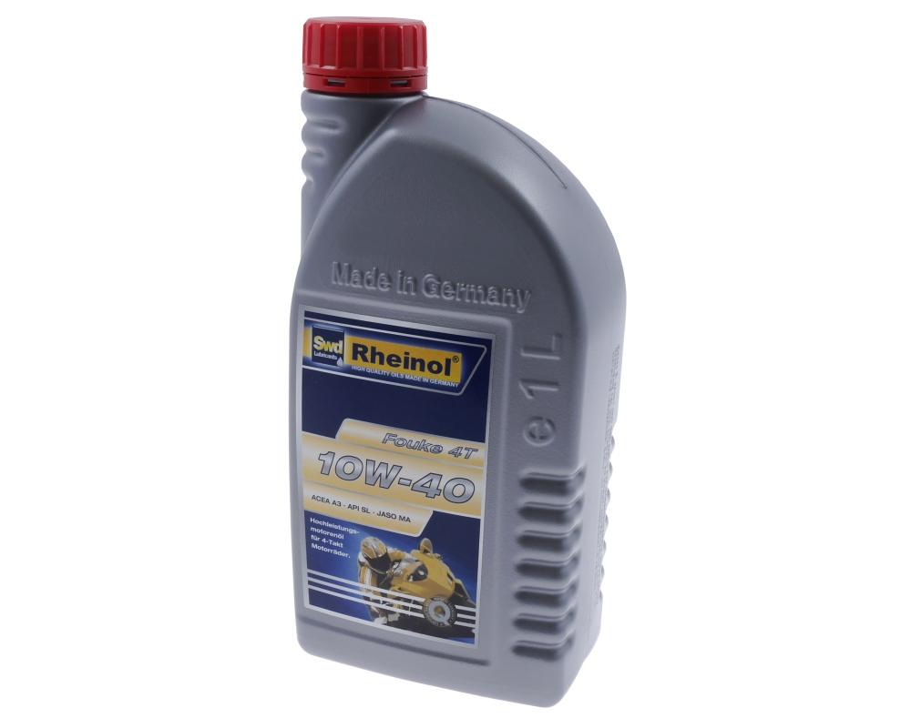 Motor�l RHEINOL Fouke 4T SAE 10W-40 - 4-Takt - 1 Liter