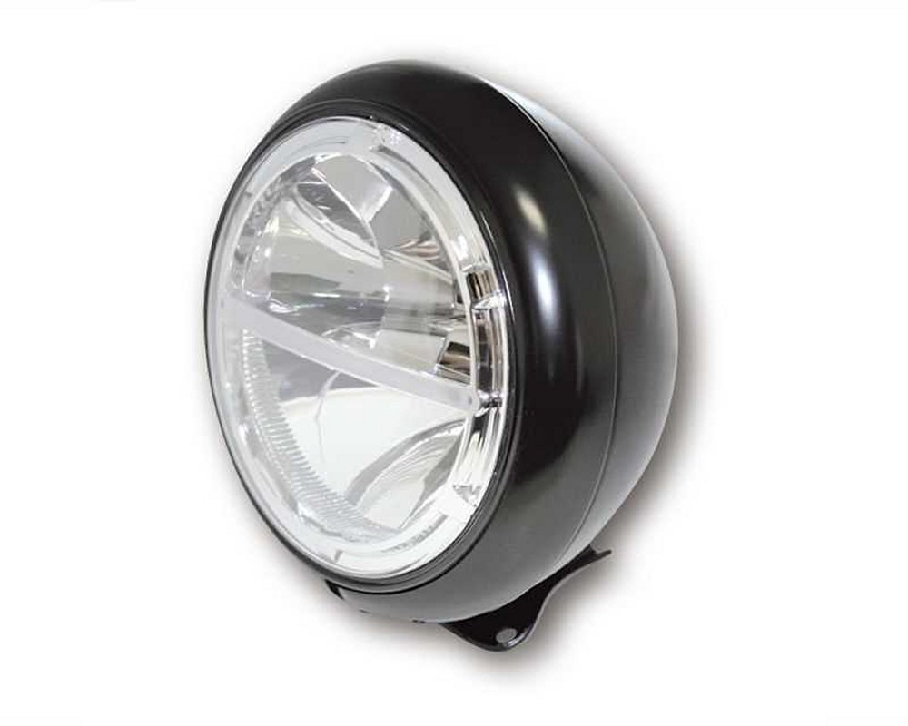 scheinwerfer led motorrad voyage hd style 7 zoll metall. Black Bedroom Furniture Sets. Home Design Ideas
