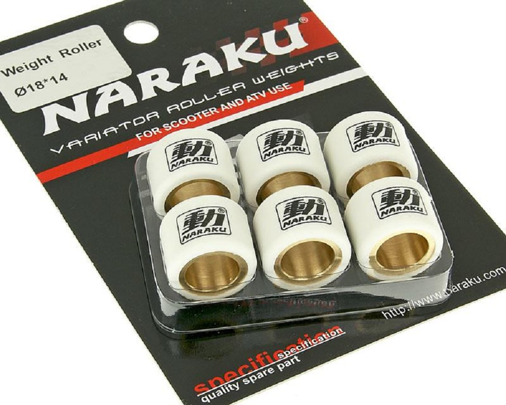 Variomatik Naraku Sport f/ür Kymco Agility 50 RS 4T KG10S