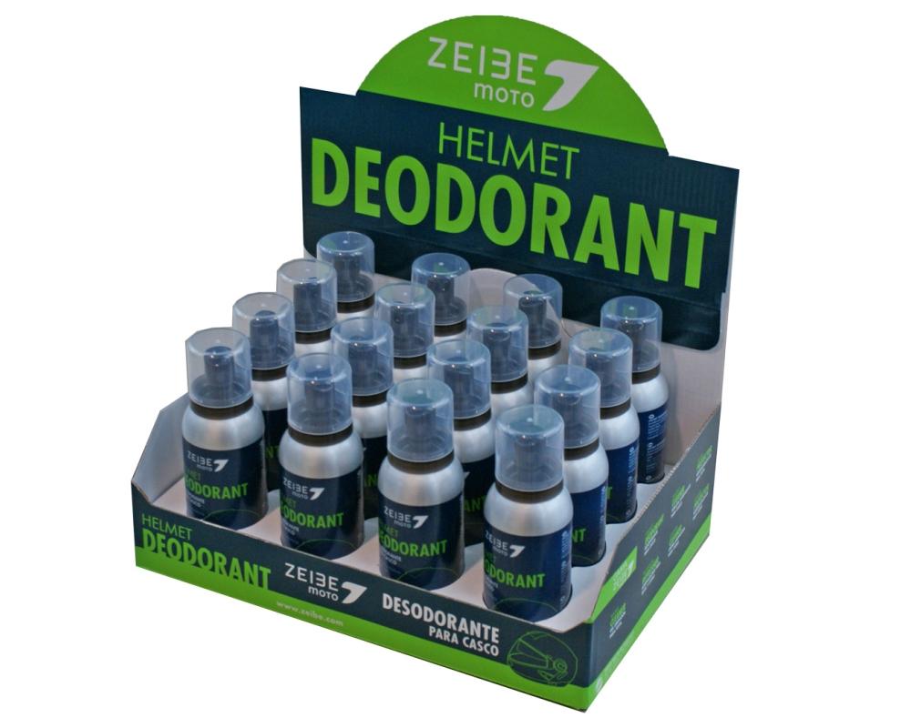 Helm Deodorant Zeibe Zerst�uber Display 16x100ml