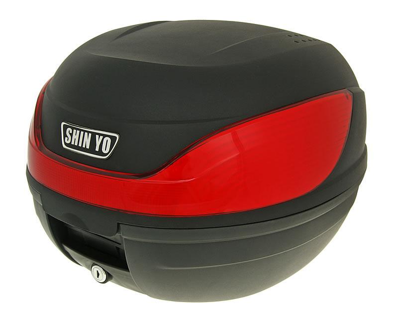 Topcase Koffer MILANO schwarz 32L