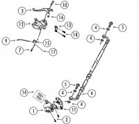 GMX450 Sport 4T AC Bremsanlage vorne für Rex Monza