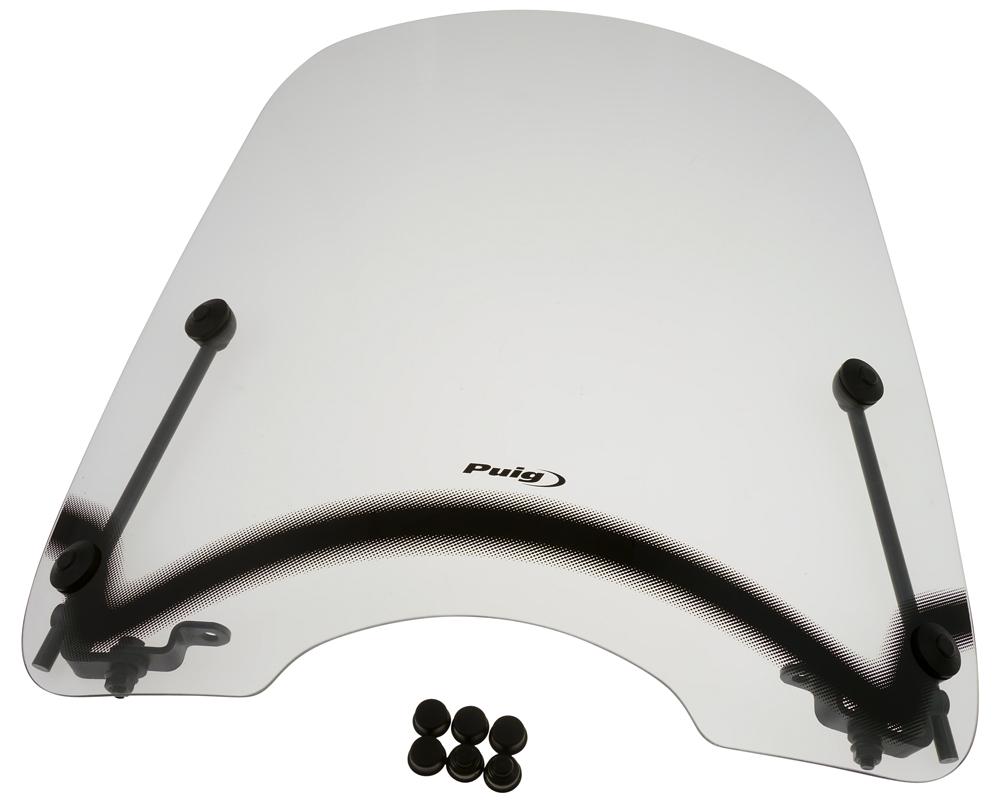 Windschild PUIG T.S. transparent / klar f�r Peugeot V-Clic