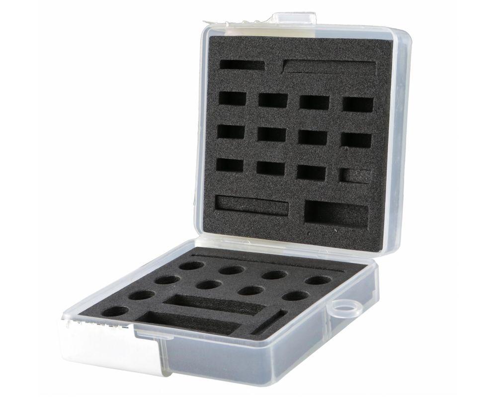 D�senbox SIP f�r SHB/PHB/SI D�sen, 60x60mm, 2 Schaumstoffeinlagen