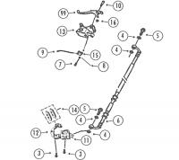 GMX450 4T AC Bremsanlage vorne für Rex RS400, RS460, Monza, GMX450 / Spor