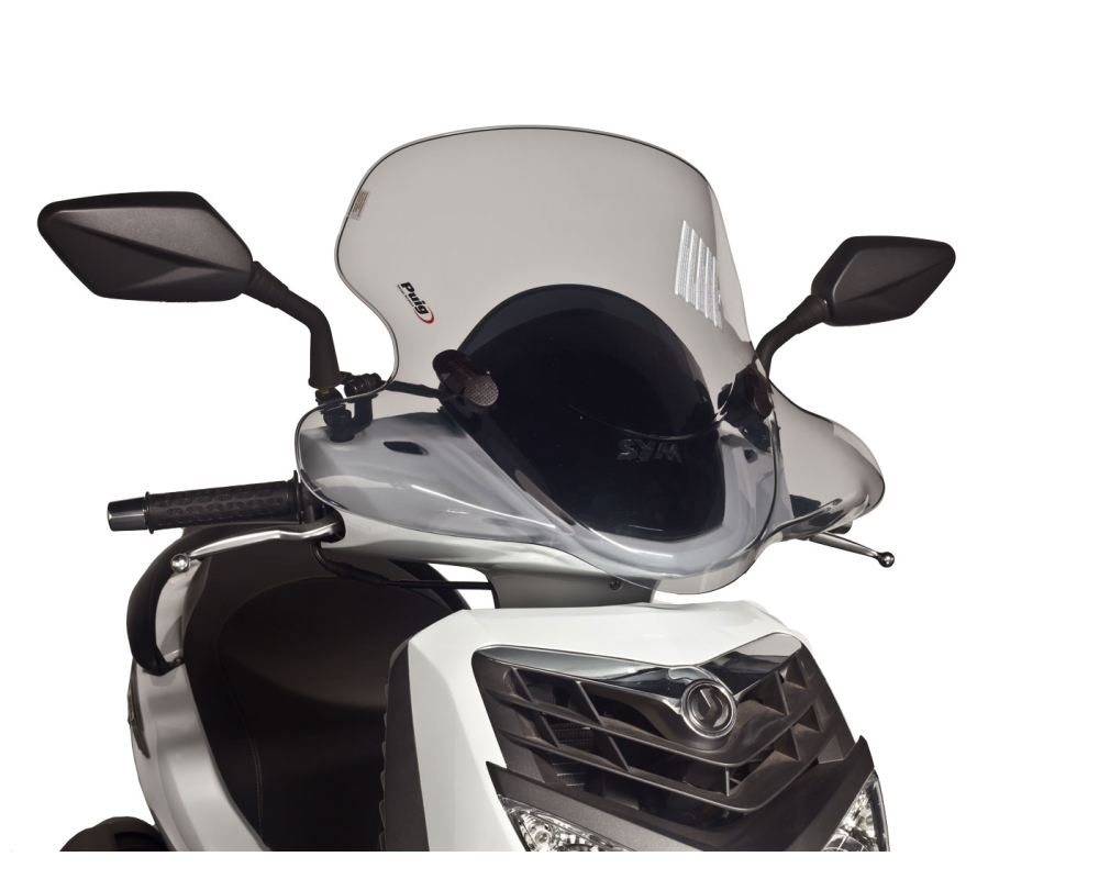 Details about Windscreen PUIG City Touring smoke for SYM HD 200i EVO 08-14