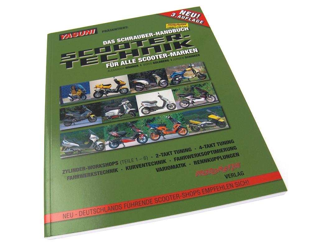 Reparaturbuch Scooter-Technik f�r alle Marken