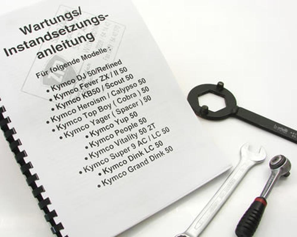 Reparaturhandbuch ZZIP 2-Takt KYMCO