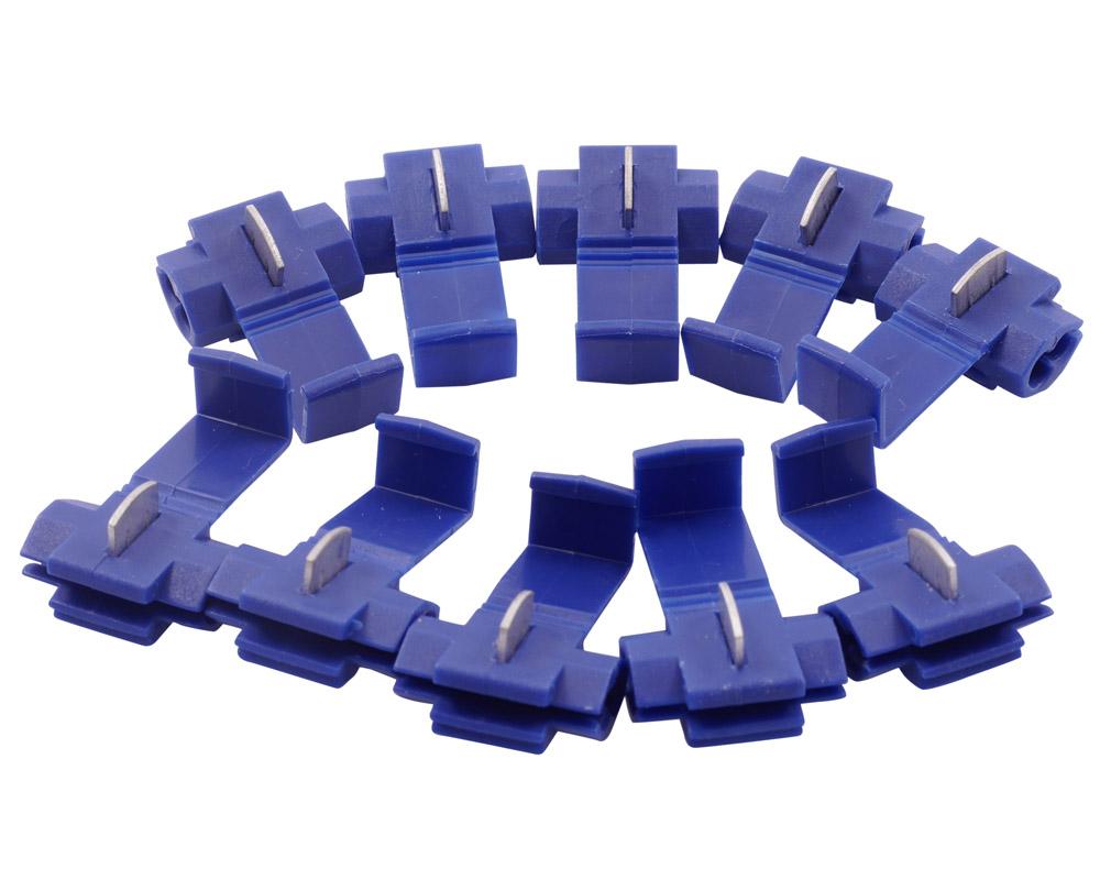 10x Kabelverbinder / Kabelklemmen 1,5mm bis 2,5mm