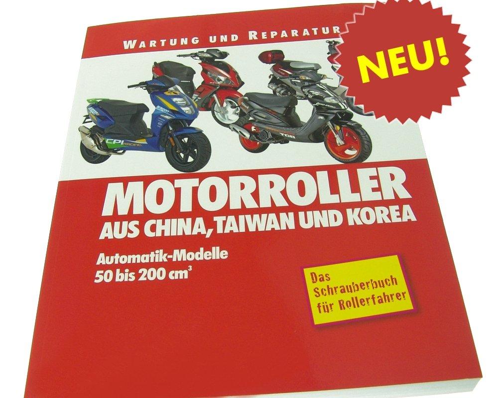Reparaturbuch 2&4 TAKT CHINA-ROLLER �ber 250 Seiten
