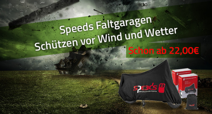Speeds Faltgaragen ab 22€