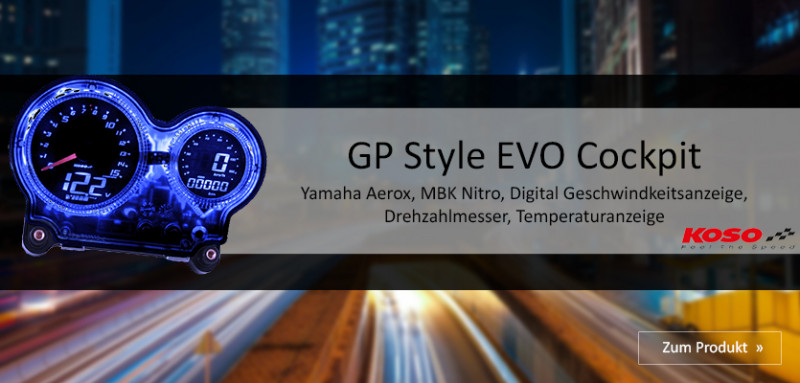 KOSO GP EVO Style