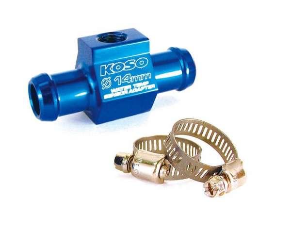 Wasserschlauchadapter für Temperaturfühler in versch. Größen